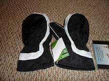 Edwin Watts Winter Cart Mitten Ski Golf Glove Mitts Large New Unisex Pair Black
