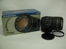 Minolta AF/ Sony Alpha Mount Quantaray 100-300mm 1:4.5-6.7 LDO Zoom Lens