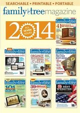 NEW! Family Tree Magazine 2014 Collection [CD] [7 Issues]