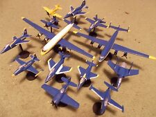 US Navy Blue Angels (13) Built and Painted Models, 1/144 Scale