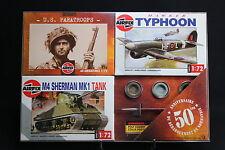 XM07 AIRFIX Collection D Day 50 Anniversaire débarquement 01751 01027 01303 WWII
