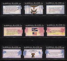 101886/ Marshall Islands 1987 - Mi 125/33 - 200 Jahre USA - ** - M€ 6,00