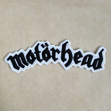 MOTORHEAD ROCK BAND PUNK HEAVY METAL MUSIC EMBROIDERY IRON ON PATCH BADGE #BLACK