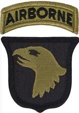 US Army OCP Airborne Division 2 Pack Velcro Patches