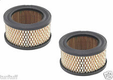 2 NEW AIR COMPRESSOR AIR INTAKE FILTER ELEMENTS # 14  A424 CRAFTSMAN PORTER