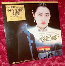 LD Laserdisc FAREWELL MY CONCUBINE Chinese 157 min Letterbox CHEN KAIGE