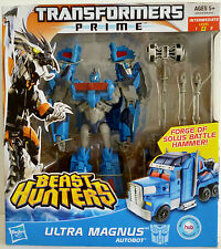 ULTRA MAGNUS Transformers Prime Beast Hunters Voyager Class #5 Series 2 2013