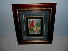 "The Cardinal Birds  ""Male & Female"" Print Signed & Numbered T.PENNINGTON"