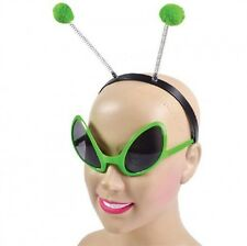 ALIEN SET Head Bopper Antenna and glasses eyes Halloween Fancy Dress Accessory
