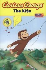 Curious George The Kite early beginning reader kids book level 1 Learn to read
