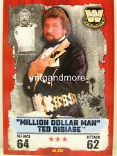 "Slam Attax Takeover - #252 ""MILLION DOLLAR MAN"" Ted DiBiase"