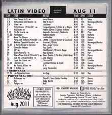Promo only LATIN video AUG 2011 Enrique Iglesias & Usher/Lil Wayne PATY CANTU