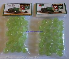 2 BAGS OF OLIVER 77 FARM TRACTORS ADVERTISING PROMO MARBLES