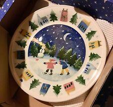 New Nikko Winter Wonderland 3 pc Buffet Set - Dinner Plate Cup & Saucer Boxed