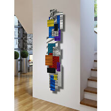 Metal Painting Abstract Modern Home Wall Art Sculpture Impromto by Jon Allen