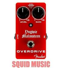 Fender Yngwie Malmsteen Overdrive Pedal True Bypass Gain & Level Controls