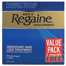 Regaine Solution Mens Extra Strength Hair Loss (4 Months Supply) - Minoxidil