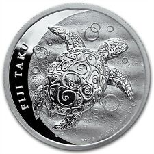 New Zealand Mint Fiji Taku 2013 1 oz .999 Silver Coin