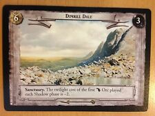 Lord of the Rings CCG Fellowship 1U350 Dimrill Dale LOTR TCG
