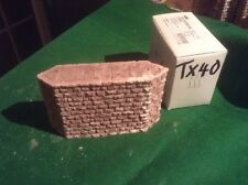 Stone Style Bridge support pier  -OO Scale HO Scale 76mm Tall Rough Stone