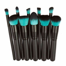 Makeup 10pcs Cosmetic Brush Face Powder Eyeshadow Blush Brushes Set Tools