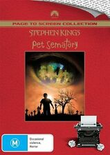 PET SEMATARY Stephen King DVD R4
