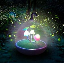 Magic Garden Portable Nightlight Dimmable Mushroom Led Sensor Touch Night Light