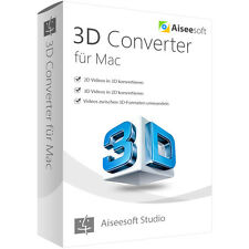 3D Converter MAC Aiseesoft dt. Vollversion -lebenslange Lizenz ESD Download