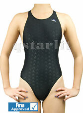 FINA Girls Youth Women Competition Fast Skin Swimsuit Swimwear Sz 32 XL Girls 16