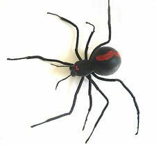 """Large Black Widow Spider Scary Haunted House Halloween Party Decoration Prop 24"""""""
