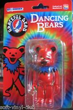 100% Be@rbrick Grateful Dead Dancing Bear Bearbrick red