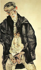 Egon Schiele Reproductions: Self Portrait, 1911 - Fine Art Print
