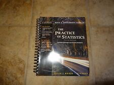THE PRACTICE OF STATISTICS MEDIA & SUPPLEMENTS SAMPLER SPIRAL BOUND BOOK