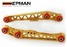 EPMAN REAR LOWER CONTROL ARM KIT fit HONDA CIVIC 88-95 EG INTEGRA 90-01 GOLD