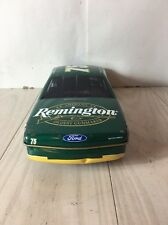 1996 Remington NASCAR Race Car Morgan Shepherd #75 X-Mas Gift Edition Tin