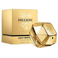 LADY MILLION ABSOLUTELY GOLD by Paco Rabanne 2.7 oz / 80 ml PARFUM SPRAY WOMEN
