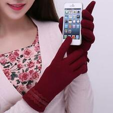 Fashion Womens Ladies Touch Screen Winter Mittens Outdoor Sport Warm Gloves New