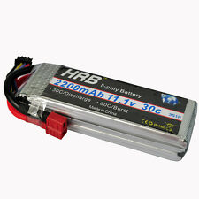 HRB T-REX 450 Lipo Battery 11.1V 2200mAh 30C RC Airplane fixed-wing Helicopter