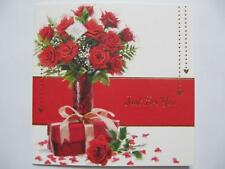 PACK OF 3 ROSES & PRESENTS JUST FOR YOU BIRTHDAY GREETING CARDS