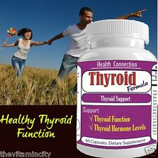 #1 THYROID HORMONE PILLS BEST CHOICE THYROID SUPPLEMENT ENERGY SUPPORT HEALTH