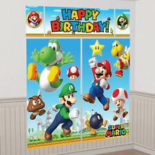 Super Mario Nintendo Scene Setter Luigi Toad Birthday Party 670508