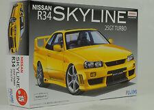 2000 Nissan R34 Skyline 25GT Turbo Kit Bausatz 1:24 FUJIMI ID-15