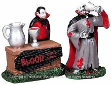 Lemax 82463 GHOULISH REFRESHMENT Spooky Town Retired Figurine Halloween Decor I