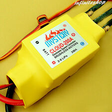 200A 2-6s Mystery Brushless ESC W/ Water Cooling For RC Boat V2.1