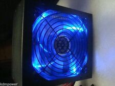 NEW 750W 750 Watt 775W LED Quiet Large Gaming Fan SATA ATX Power Supply PSU PCIe