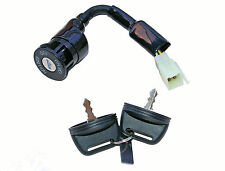 Aeon quad ignition switch - 6 wires, 2 on positions - male connectors