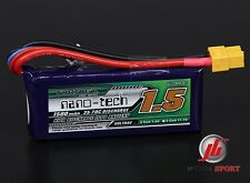 Turnigy Nano-Tech 1500mAh 2S 7.4V 35-70C Lipo Battery