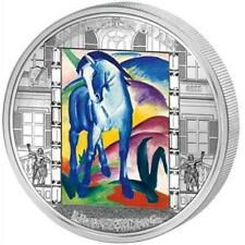 Cook 2011 $20 Masterpieces of Art - Franz Marc Blue Horse 3 Oz Silver Proof Coin