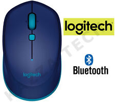 LOGITECH M535 Blu Bluetooth wireless mouse ottico compatto per PC Laptop MAC