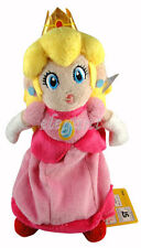 "Nintendo Super Mario Brothers Bros Pink Princess Peach 8"" Peluche Plush Doll"